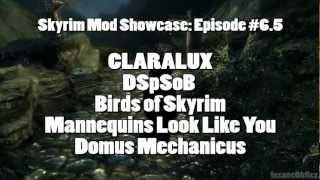 Skyrim Mod Showcase: #6.5 - CLARALUX, DSpSoB, Birds, Mannequins, and Domus Mechanicus