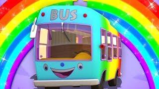 боб колеса на автобусе   боб автобус песня   Bob Train Wheels On The Bus   Bob The Train Russia