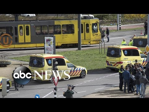 Suspect arrested after 3 killed, 5 injured in shooting on Dutch commuter train