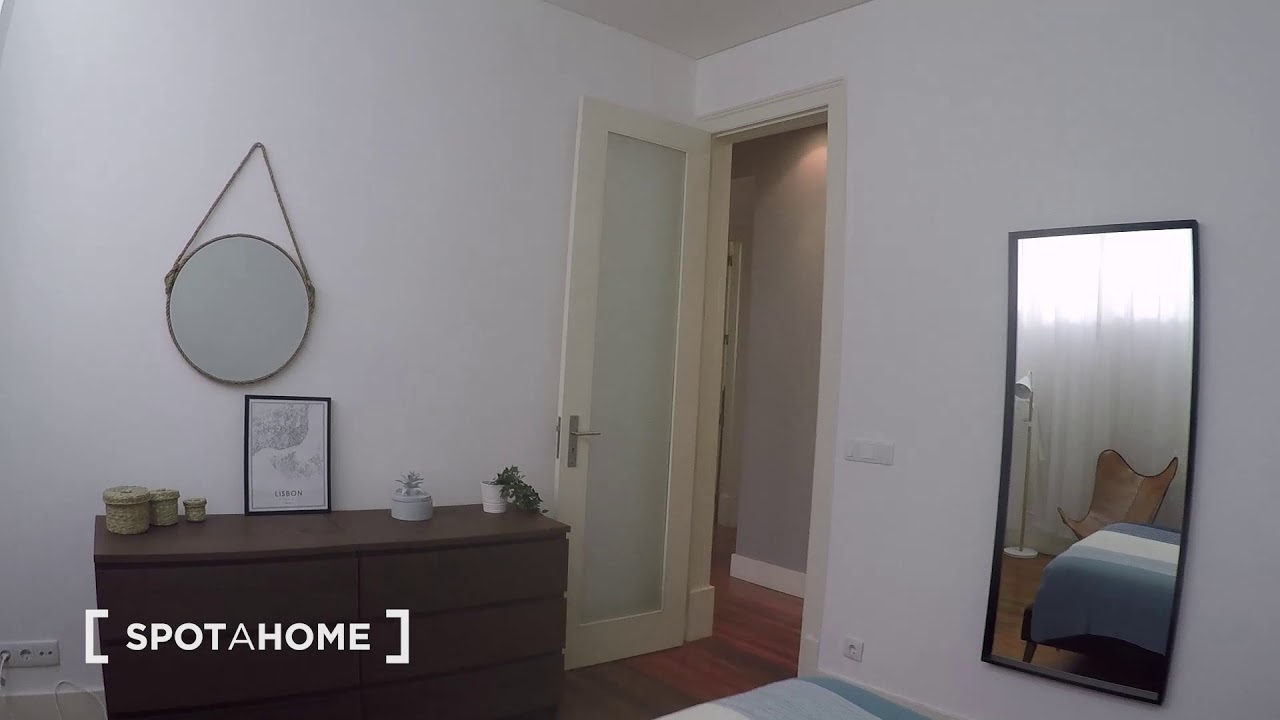 Chic 1-bedroom apartment for rent in Arroios
