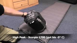 High Peak - Idaho & Scorpio 1700 (1) Schlafsack
