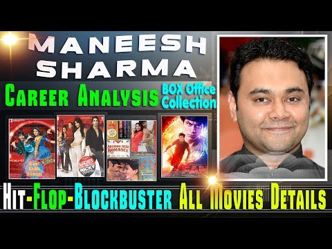 Director Maneesh Sharma Box Office Collection Analysis Hit and Flop Blockbuster All Movies List.