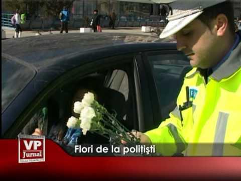 Flori de la poliţişti