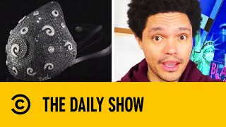 World's Most Expensive Face Mask Is Worth $1.5 Million | The Daily Show With Trevor Noah