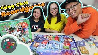 Cùng chơi boardgame Lớp Học Mật Ngữ phiên bản Siêu Thú Ngân Hà ToyStation 453