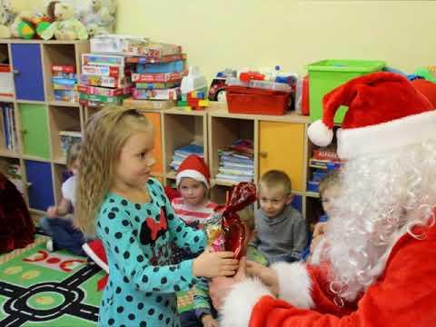 Wizyta Św. Mikołaja w oddziałach przedszkolnych