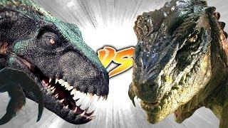 Indoraptor VS Baby Godzilla [Who Would Win?]