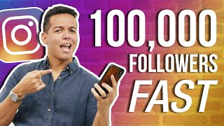 HOW TO GET YOUR FIRST 100k FOLLOWERS ON INSTAGRAM? (New Algorithm Updates!)