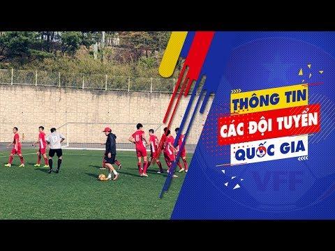 ĐT U19 Việt Nam trở lại tập luyện, Văn Xuân nghỉ thi đấu dài ngày   VFF Channel