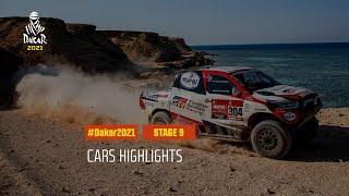 DAKAR2021 - Stage 9 - Neom / Neom - Car Highlights