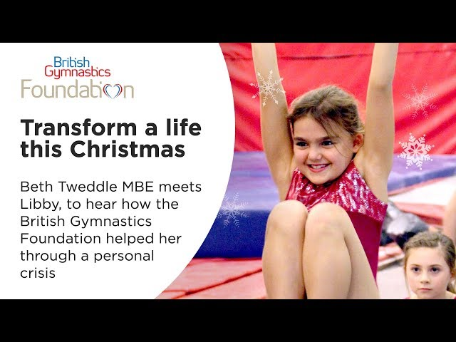 Transform a life this Christmas with the British Gymnastics Foundation