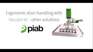 Ergonomic door handling with Vaculex® VL
