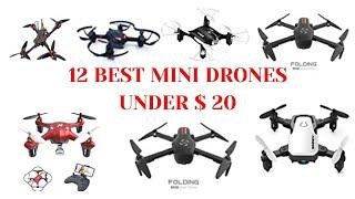 12 Best Mini Drones 4K UHD Camera Under $ 20 in 2020 - Best Budgeted Mini Drones in 2020-Aliexpress