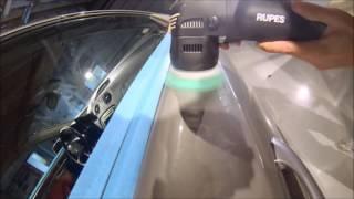 """Вращательно-орбитальная полировочная машинка RUPES LHR75 MINI от компании ООО """"ЛПИ Груп"""" - видео"""