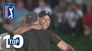 Tiger Woods' top 10 shots at Bay Hill - dooclip.me