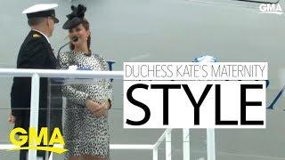 Kate Middleton's royal maternity style