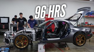 Getting the AWD 4 Rotor Running in 4 Days! We didn't Sleep! Massive Build Video