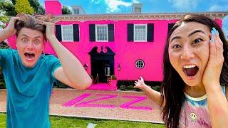 I TURNED THE TEAM RAR HOUSE PINK!!
