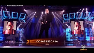 Carlos Latre repasa las grandes voces de los 25 años de Antena 3 | Gala 25 años de Antena 3