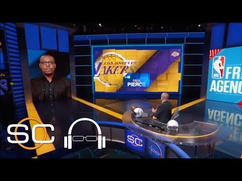 Paul Pierce: Lakers surrounding LeBron James with the right pieces | SC with SVP | ESPN