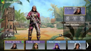 Call of Duty Mobile SEASONAL | Premier Operator & Deadly Mist | Outrider, Tactician+ perk, Cryo Bomb