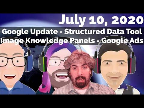 Pequena atualização no ranking do Google, painéis de conhecimento de pesquisa de imagens, ferramenta de teste de dados estruturados e anúncios do Google 28