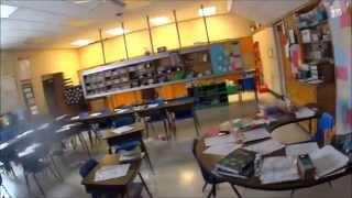 США Обзор кабинета в американской школе