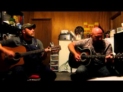 "B.J. Thibodeaux and brother, Dave Winfrey, Jr., jamming their original ""Angeline"""
