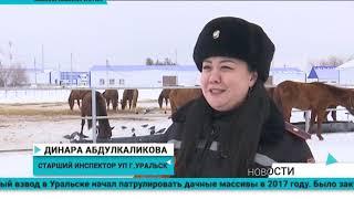 В Уральске служит единственная в РК кавалеристка