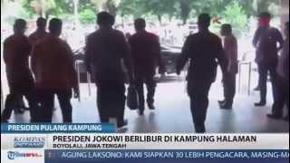 Presiden Joko Widodo Pulang Kampung