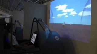 preview picture of video 'Flight simulator at Pearl Harbour (Per Storaker)'