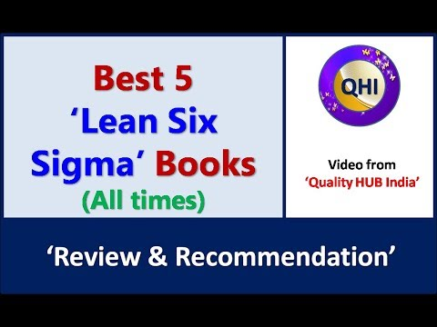 Best 5 'Lean Six Sigma Books' - Video from 'Quality HUB India ...