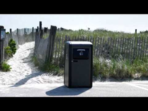Official BigBelly Solar Overview - Solar Powered Trash Compactor