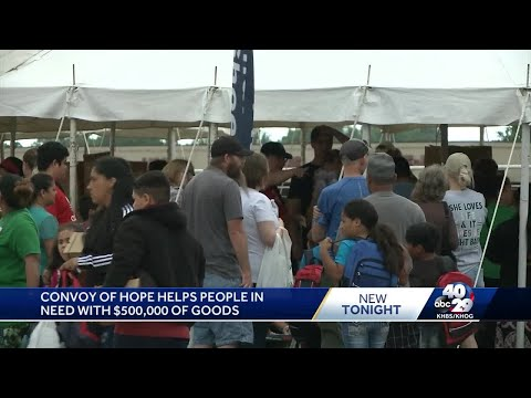Convoy of Hope helps people in need with $500,000 of goods