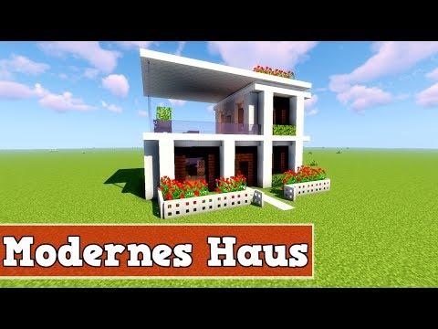 Wie Baut Man Ein Kleines Modernes Haus In Minecraft Minecraft - Minecraft kleines haus bauen tutorial deutsch