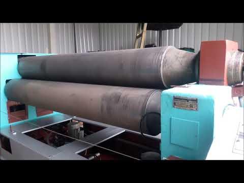 3 Roll Plate Bending Machine STROJARNE PIESOK XZMP 2000/8C 1988