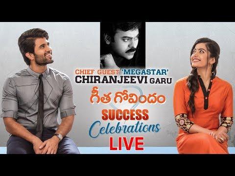 Geetha Govindam Success Celebrations Live | Chiranjeevi | Vijay Deverakonda