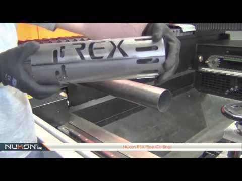 NUKON Fiber Laser REX Pipe Cutting