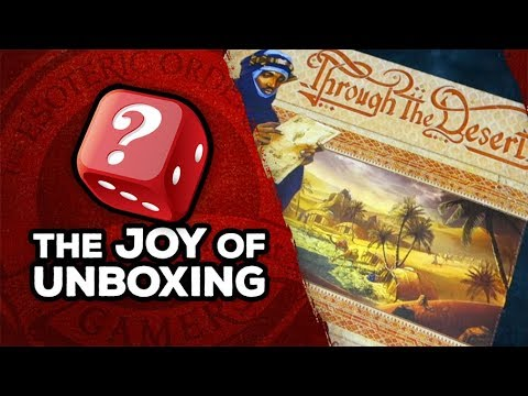 The Joy of Unboxing: Through the Desert
