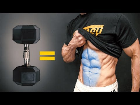 The BEST Dumbbell Exercises – ABS EDITION!
