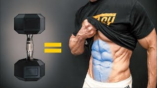 The BEST Dumbbell Exercises - ABS EDITION!