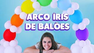 Aprenda, passo a passo, como fazer um arco íris de balões para decorar sua festinha.  INSCREVA-SE NO CANAL: http://youtube.com/channel/UCE01O2N4oLxMV9BEstmG28g?sub_confirmation=1  FACEBOOK: http://www.facebook.com/amofestas  INSTAGRAM: @amofestas