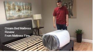 Dream Bed Mattress Review the Mattress in a box from MATTRESS FIRM!