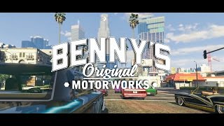 GTA Online: Lowriders - Benny's Original Motor Works Trailer