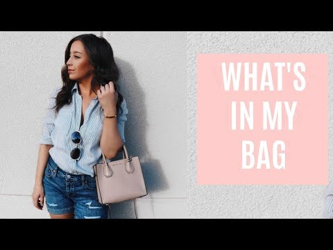 What's In My Micheal Kors Mercer Bag + Review