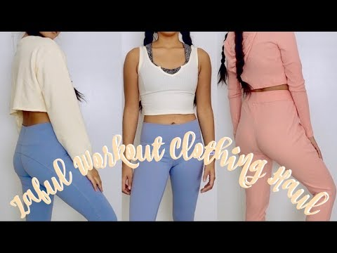 Affordable Workout Clothing Haul! Zaful Has Active Wear!!!