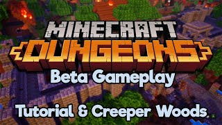 Let's Play Minecraft Dungeons! ▫ Beta Gameplay ▫ Tutorial & First Level (Let's Play) [Ep.1]