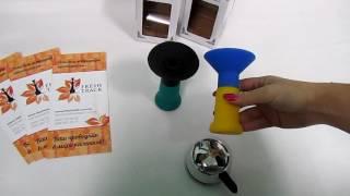 Чаша для кальяна силиконовая Euro Shisha BS-10, видеообзор 1