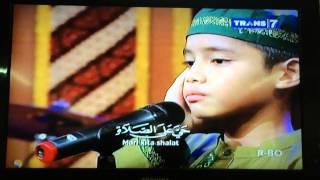 Rayhan Filardhi Azhar - Adzan Magrib di OVJ Trans 7 tanggal 13 Mei 2014