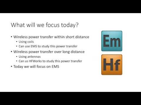 Webinar : Wireless power transfer made easy with EMS for SolidWorks